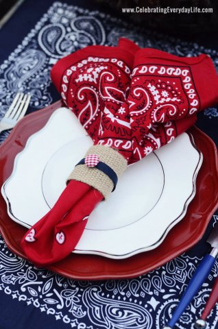 Bandana-Placesetting