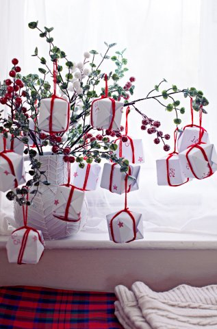 diy-advent-tree
