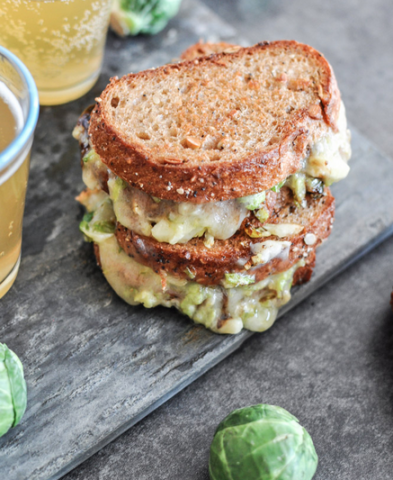 brussel-sprouts-grilled-cheese
