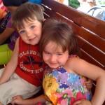 Trolley and Kids Americana