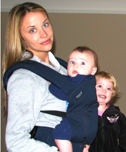 c2334310f4f The most comfortable baby carrier - Savvy Sassy Moms