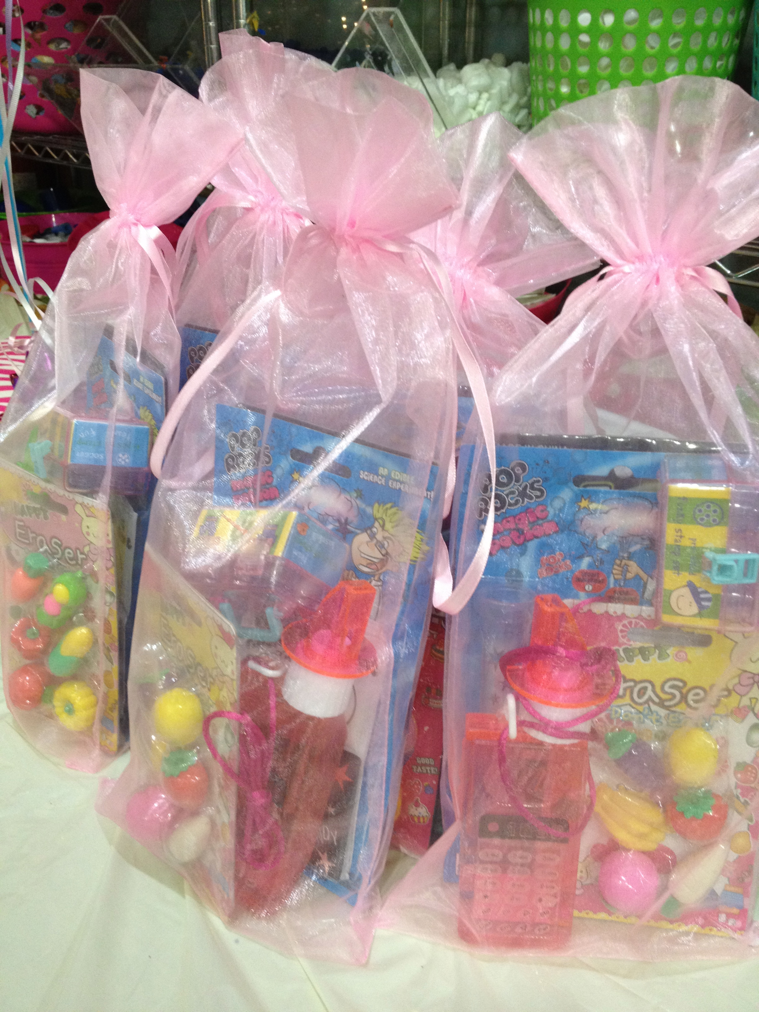 Birthday party goodie bags made to order Savvy Sassy Moms