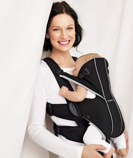 ab43a571c52 How to wear the BabyBjörn Baby Miracle Carrier  WINNER  - Savvy ...