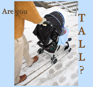 comfortable strollers for tall parents savvy sassy moms