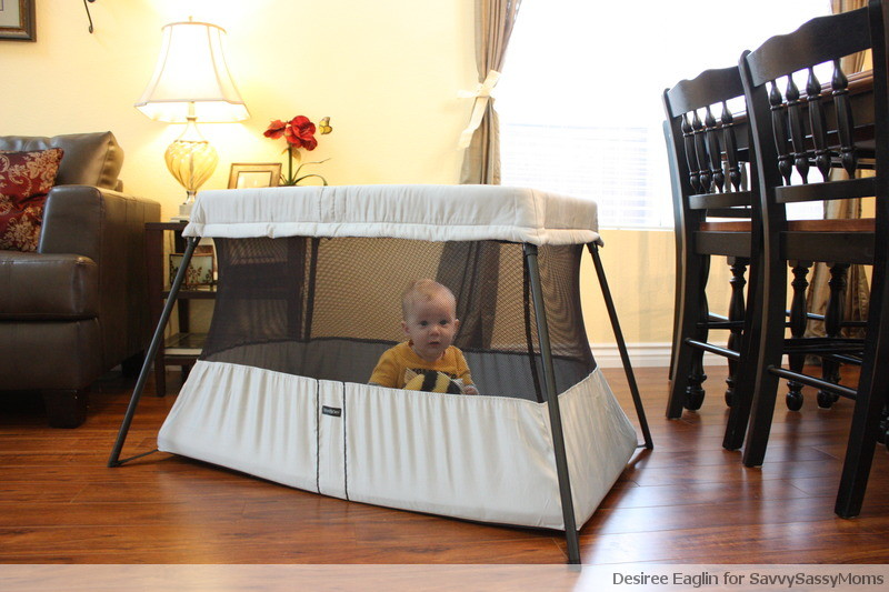 babybjorn, travel crib, babybjorn travel crib light, traveling with baby, portable crib, desiree eaglin