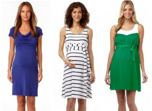 6a75891f9cd Fun Spring Dresses From Rosie Pope Maternity! - Savvy Sassy Moms