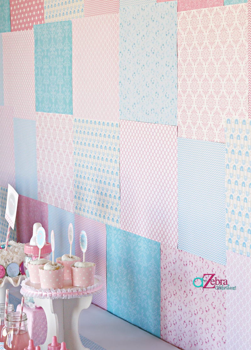 Baby Shower Backdrop Copy Savvy Sassy Moms