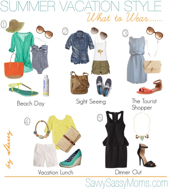 Summer Vacation Style What To Wear Savvy Sassy Moms