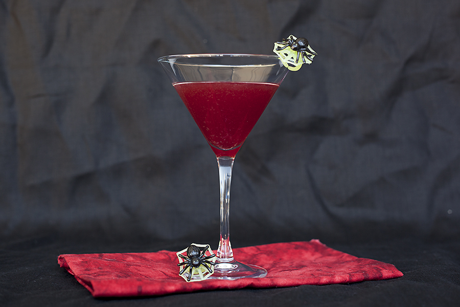 Redrum Halloween cocktail