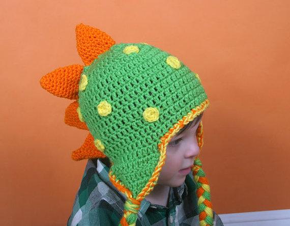 Crochet Dinosaur Hat - Savvy Sassy Moms f4f0bb335f4