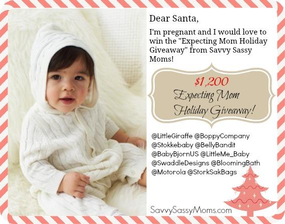 ae74cfeaa Expecting Mom Holiday Giveaway Savvy Sassy Moms 1 - Savvy Sassy Moms