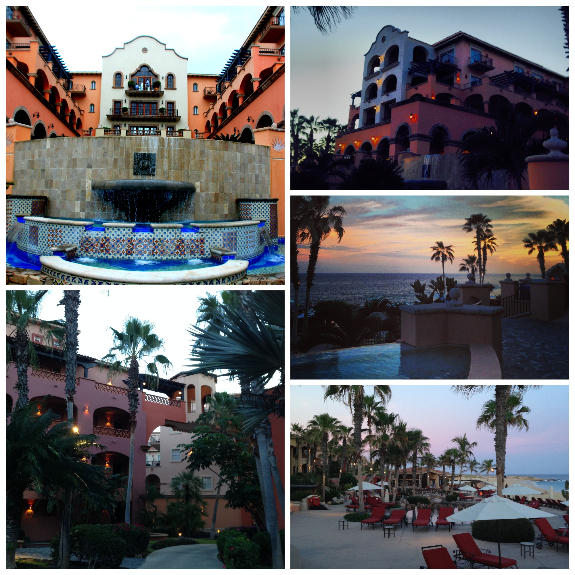 The Sheraton Hacienda Collage