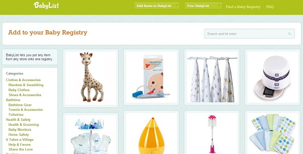 BabyList: A creative and easy to use registry built by a ...