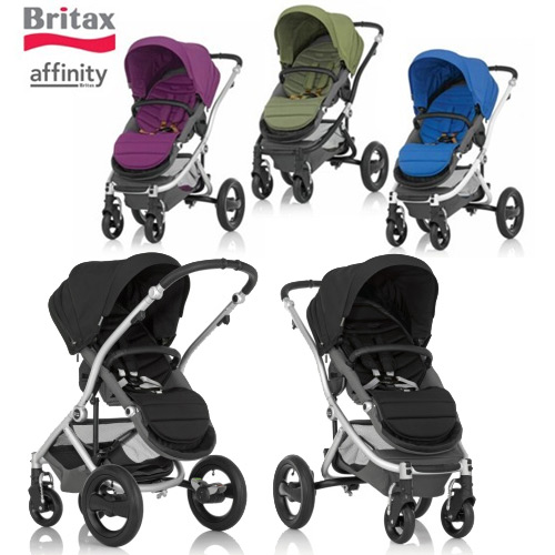 The New Britax Affinity Convertible Stroller