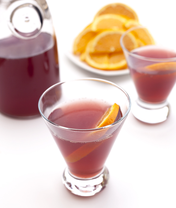 lillet rouge punch recipe