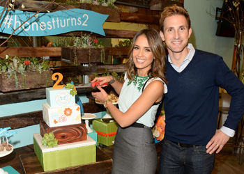 Jessica Alba and Christopher Gavigan celebrate Honest Company's 2nd Birthday