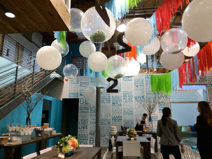 Party Decorations At Honest Companys 2nd Birthday