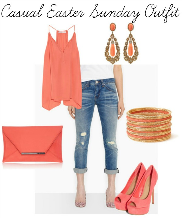 76fcafa79080 Casual Easter sunday outfit - Savvy Sassy Moms