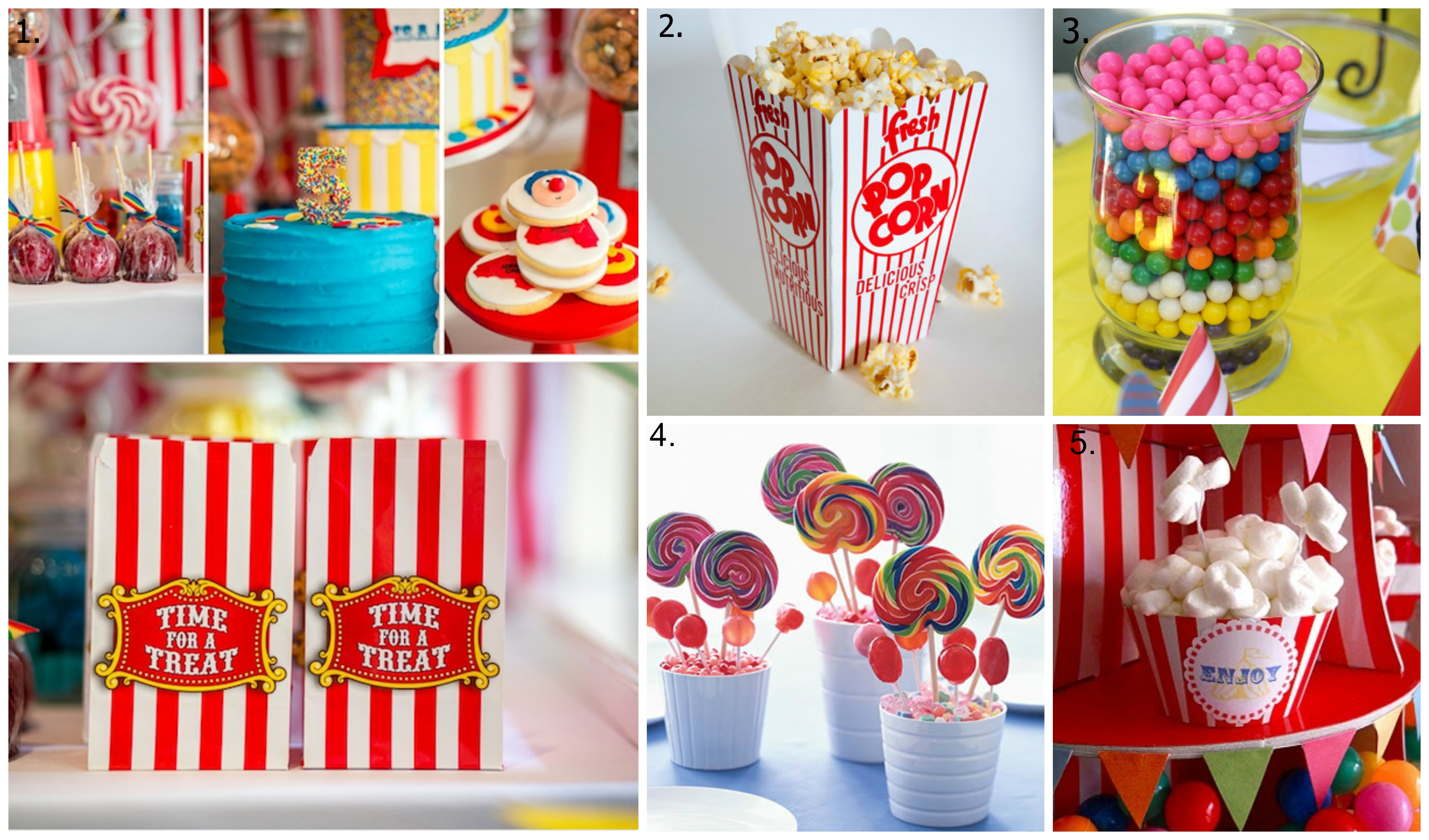 Circus Party Food Ideas Savvy Sassy Moms