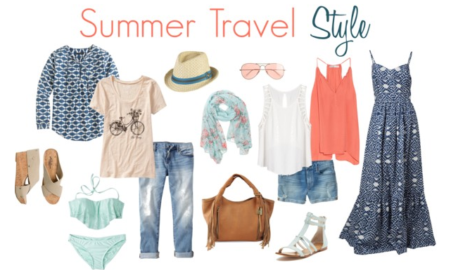 31efcf9c6159 What to pack  Summer Travel Style - Savvy Sassy Moms