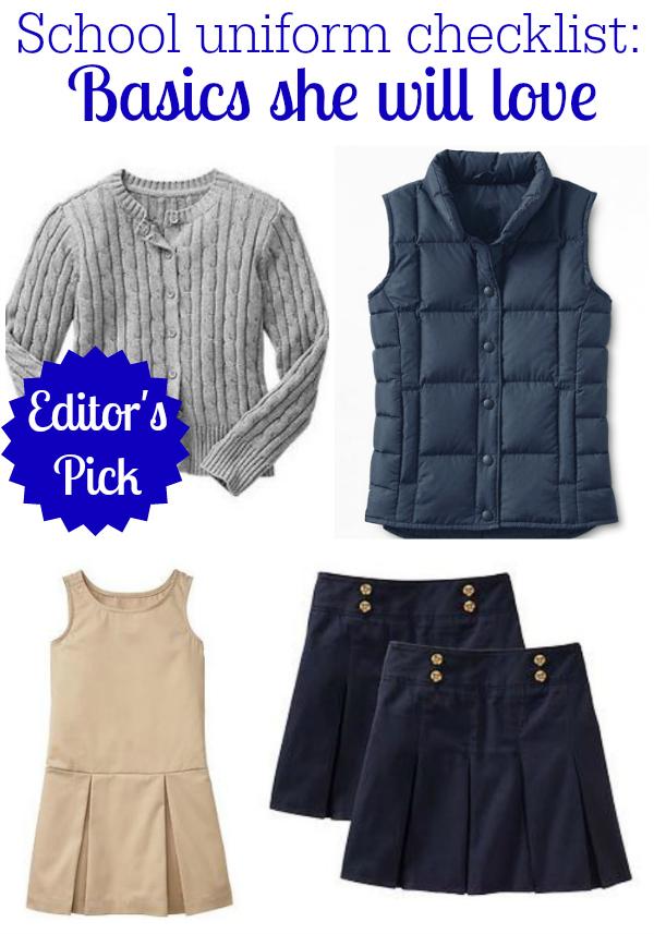 School Uniform Basics for Girls