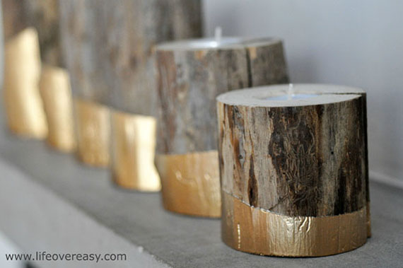 Gold Fall Decor- Lifeovereasy