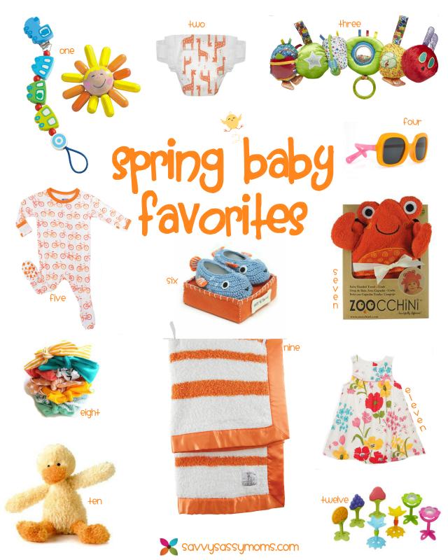 Spring Baby Favorites