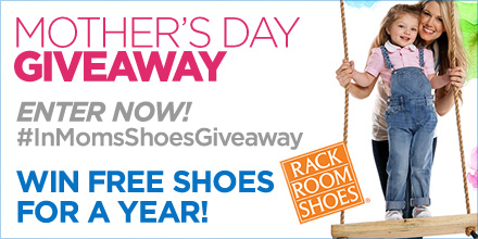 Rack Room Shoes Mother's Day Giveaway