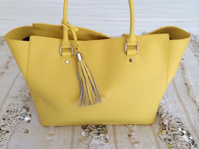 Nova Harley Brisbane Yellow Diaper Bag