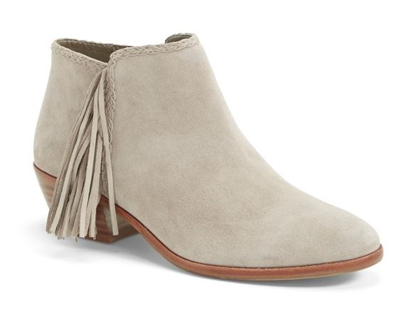 Fall Style Must-Haves — Ankle Boots with a Hint of Fringe