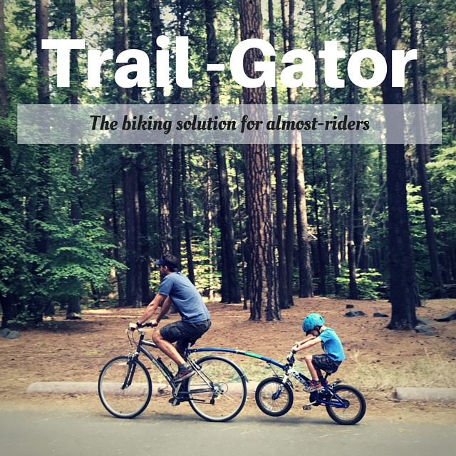Easy family bike trips with the Trail-Gator