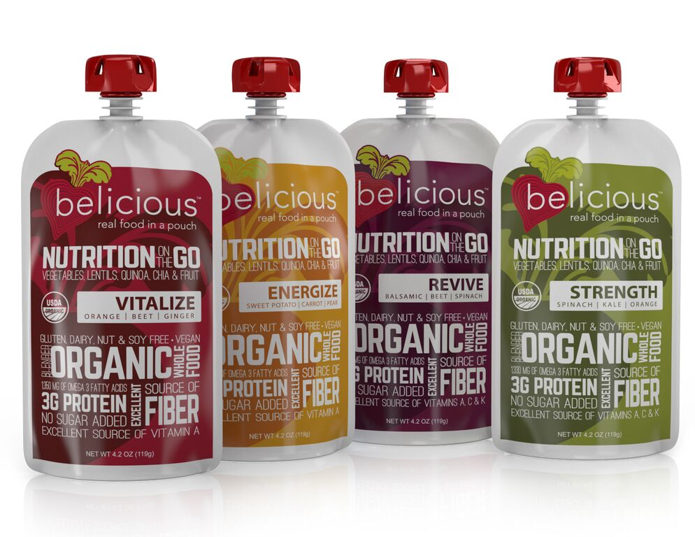 belicious Food Pouches for Moms