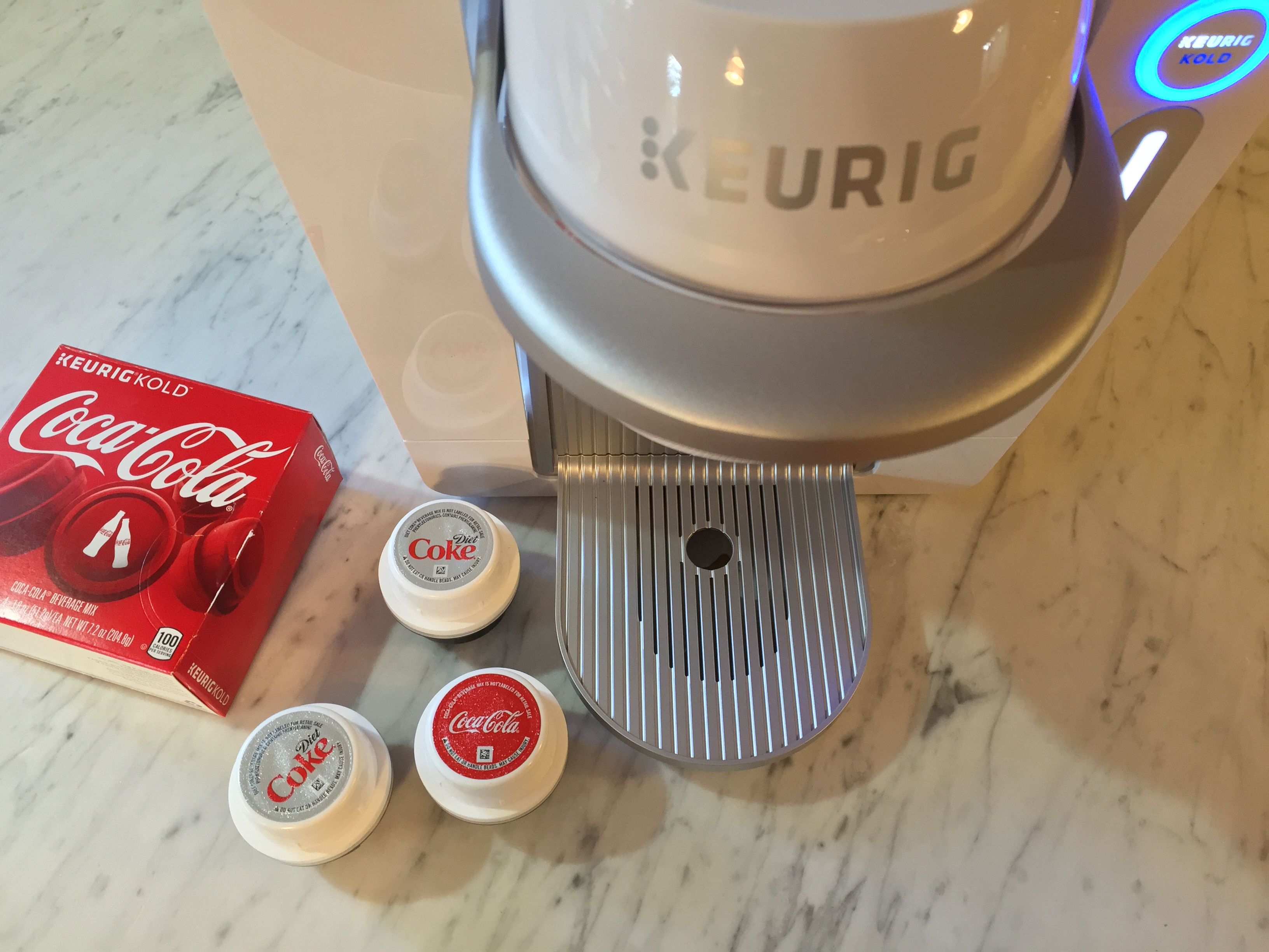 NEW Keurig Kold Makes Coke