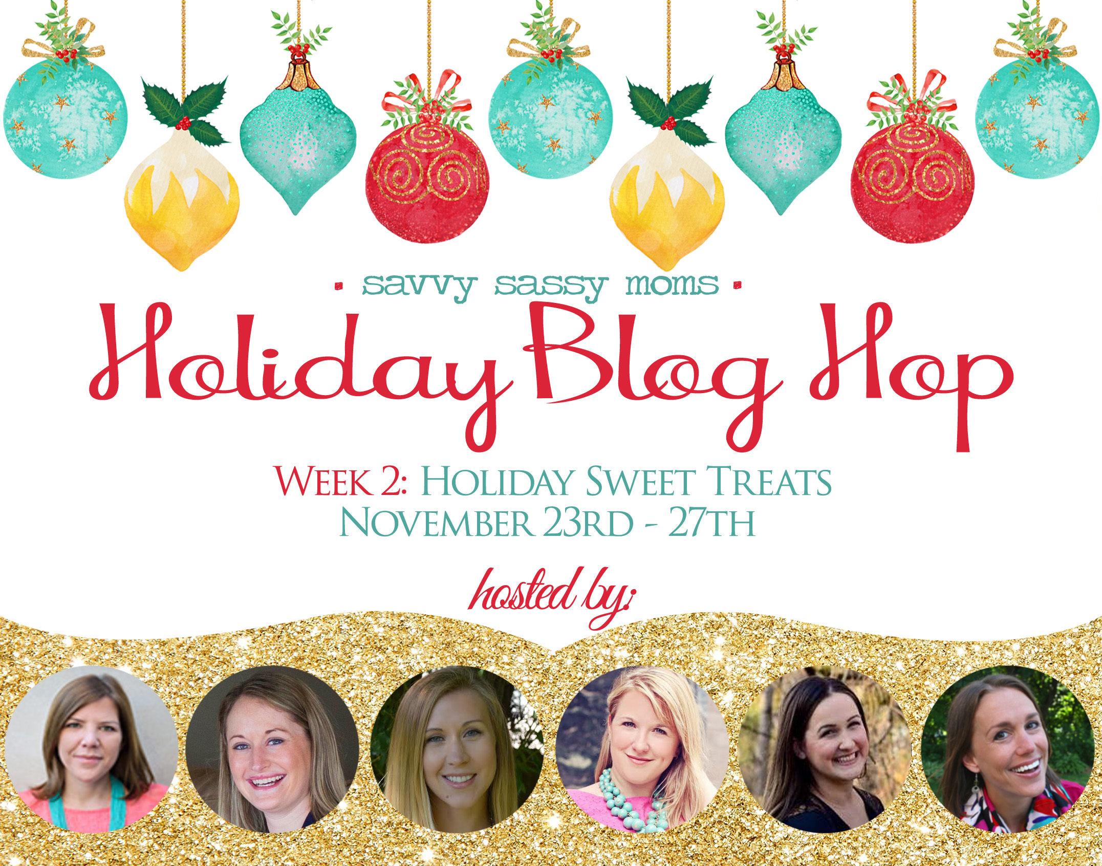 Holiday Blog Hop on Savvy Sassy Moms