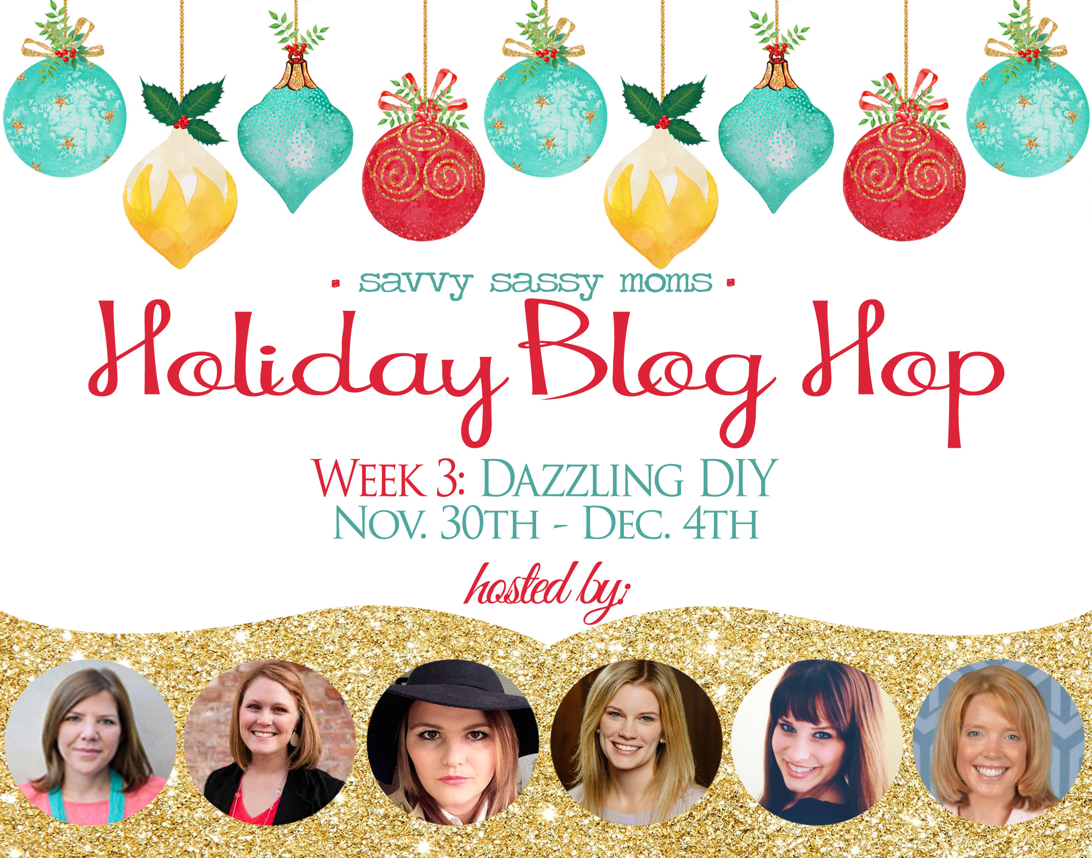Holiday Blog Hop: Dazzling Holiday DIY Ideas