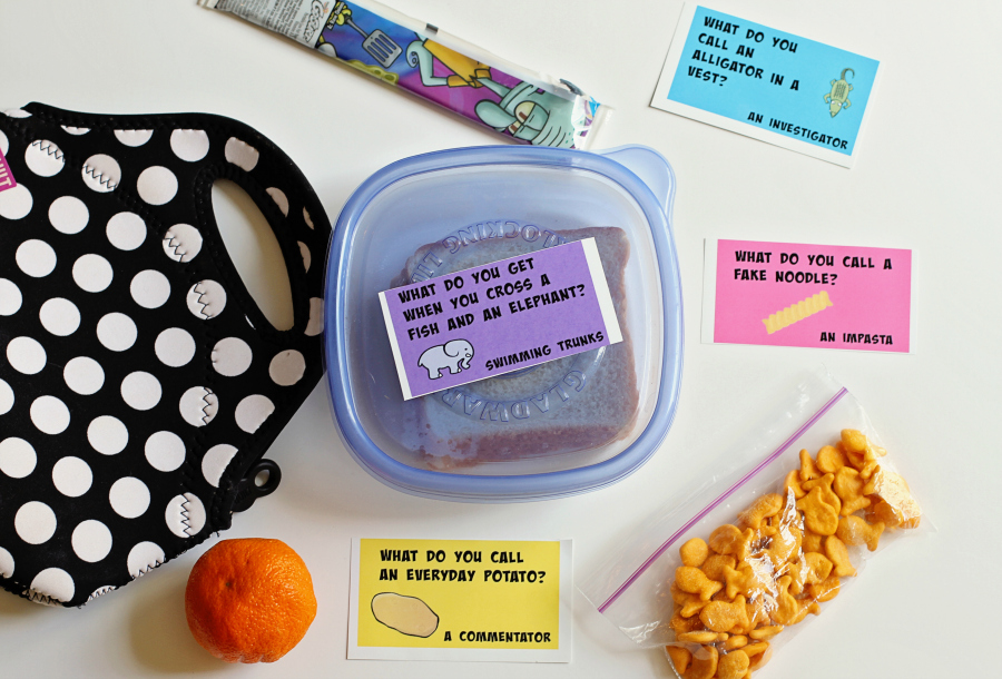 Printable Lunchbox Jokes for Kids