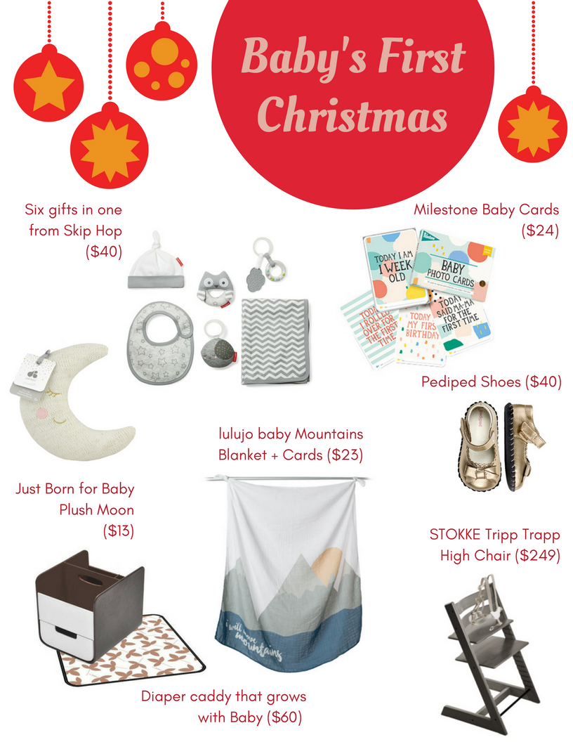 Good Babyu0027s First Christmas Gift Ideas