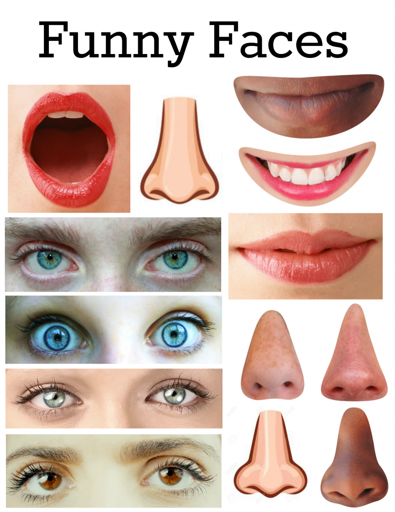 This is a picture of Mesmerizing Printable Face Parts