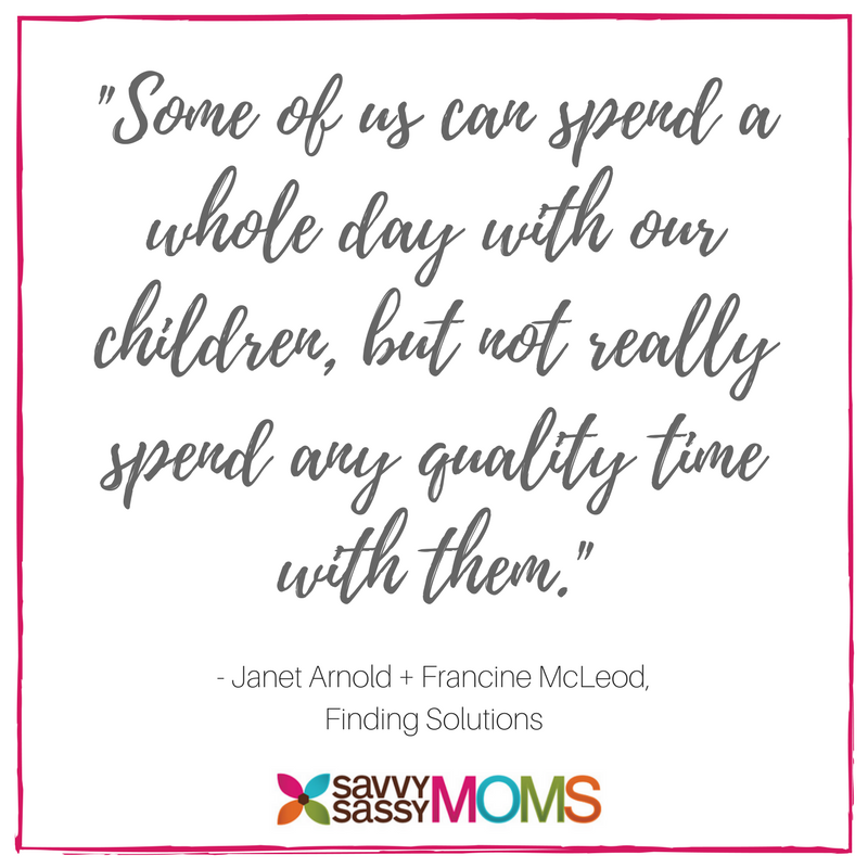 Making quality time with kids really count
