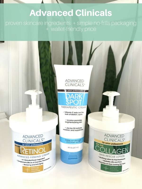 Advanced Clinicals - affordable anti-aging skin care products