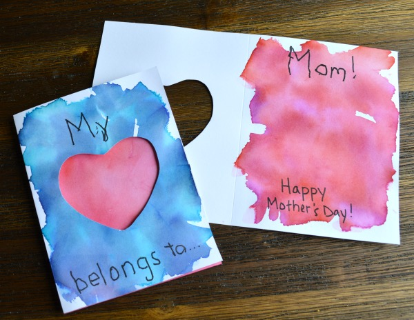 My Heart Belongs to Mom Mother's Day Card