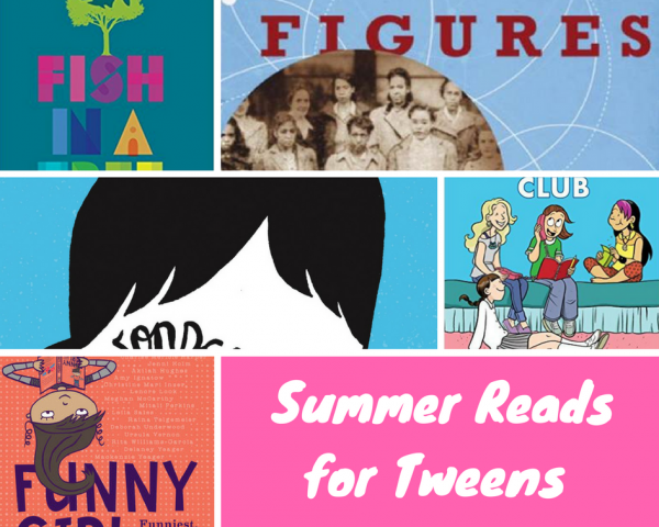 summer books for tweens