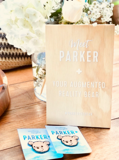 meet Parker - the first augmented reality teddy bear