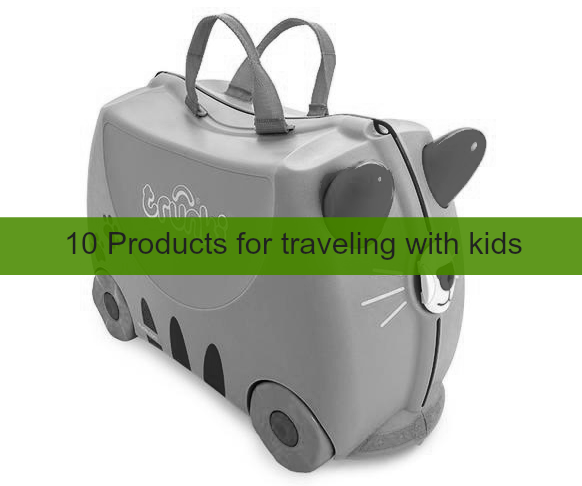 products for traveling with kids
