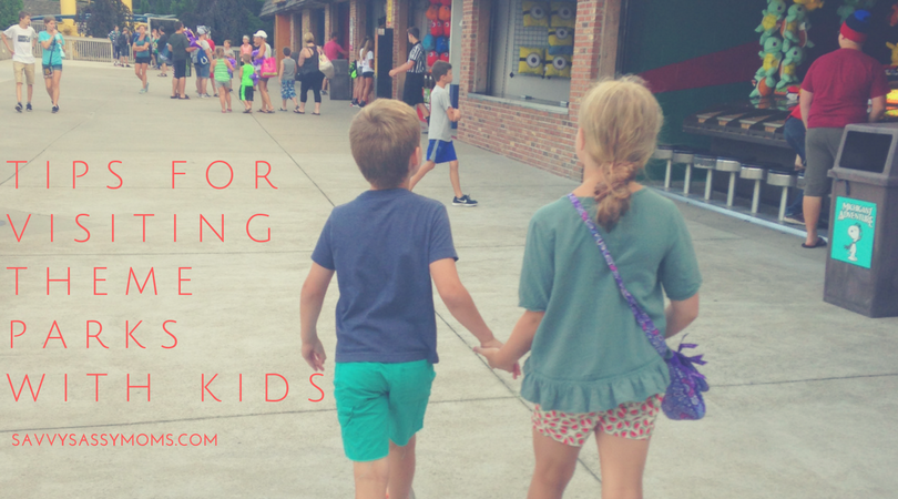 tips for theme parks with kids