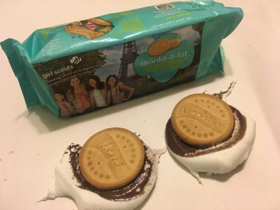 recipes with Girl Scout Cookies