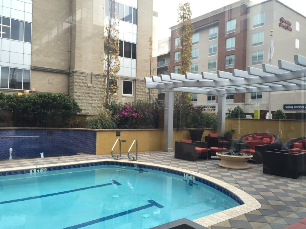 Double Tree hotel in downtown Chattanooga