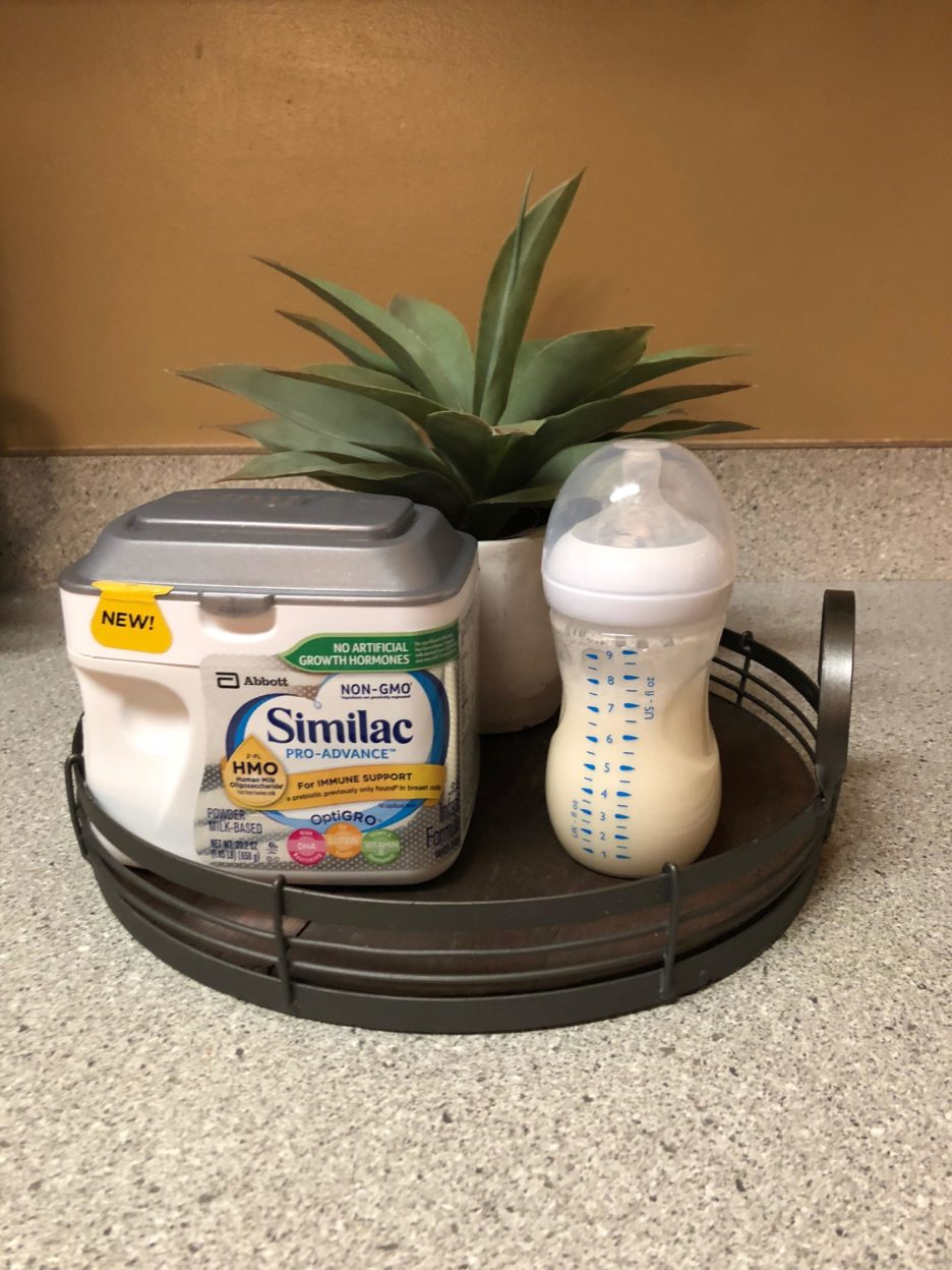 Similac and prepping for baby