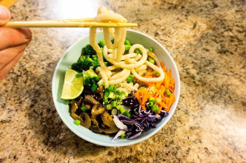 The Best Vegan Miso Noodle Soup Ever