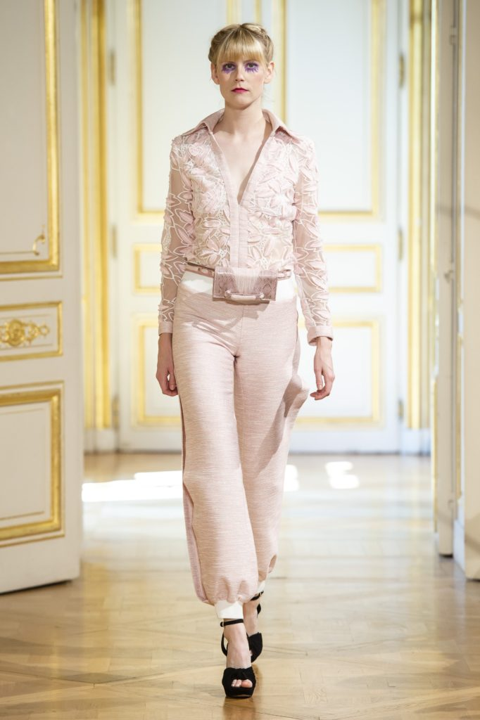 Patrick Pham's Monochramatic Looks Portray Confidence at Couture Week